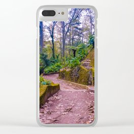 Tecajetes: My Happy Place (I) Clear iPhone Case