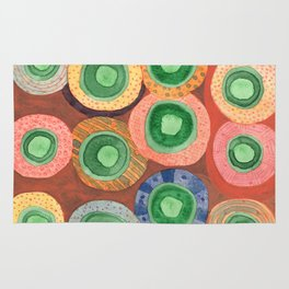 The Green Core Combines Rug