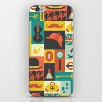 sherlock iPhone & iPod Skins featuring Sherlock by Ariel Wilson