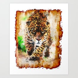 On the Prowl Art Print