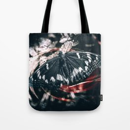 Above the darkness Tote Bag