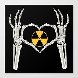 Rad Tech X Ray Skeleton Radiology Technican Gift Canvas Print