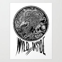 Wild Inside 2 Art Print