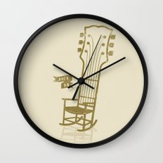 Rock On!  Wall Clock