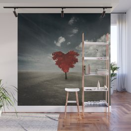 Heart Tree - Love Grows Everywhere Wall Mural