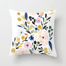 Sierra Floral Throw Pillow