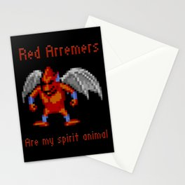 Red Arremers Are My Spirit Animal Stationery Cards