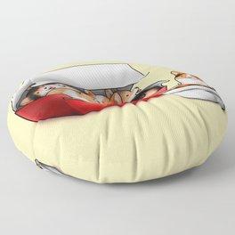 Corgi Nuggets Floor Pillow
