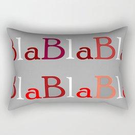 BlaBla. Rectangular Pillow