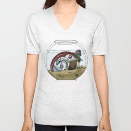 Snail Slimes the Rebel Alliance Unisex V-Neck