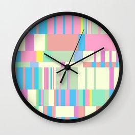 Chopin Prelude (Miami Beach Colours) Wall Clock
