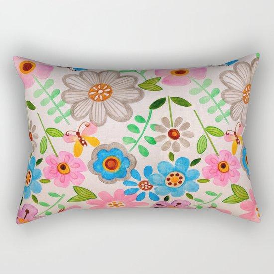 The Garden 2 Rectangular Pillow