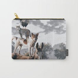 """The """"Town Musicians of Bremen"""" Carry-All Pouch"""