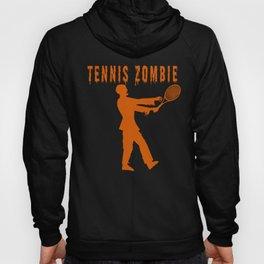 Funny Halloween Tennis Zombie Hoody