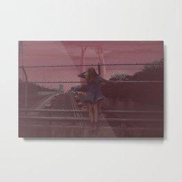 ally / highway Metal Print