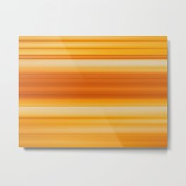 Abstract background blur motion yellow gold Metal Print