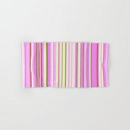 Stripe obsession color mode #9 Hand & Bath Towel