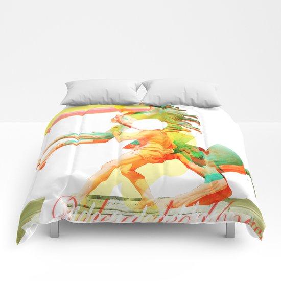 Ride a dead horse Comforters