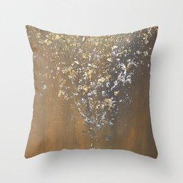 Precious metals Throw Pillow