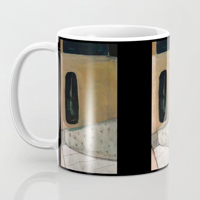 the doorway in Coffee Mug