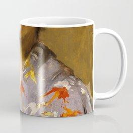 William Merritt Chase - Girl In A Japanese Costume - Digital Remastered Edition Coffee Mug
