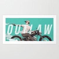 Outlaw Art Print