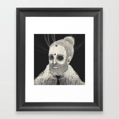HOLLOWED MAN Framed Art Print