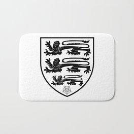 British Three Lions Crest Bath Mat