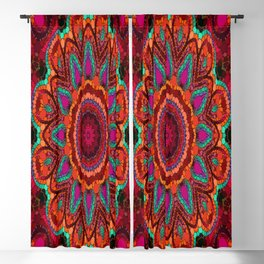 Kaleidoscope for moments of relaxation Blackout Curtain