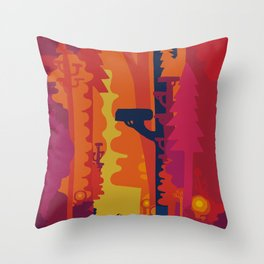 Hommage to Chris Throw Pillow