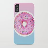 donut iPhone & iPod Cases featuring DONUT!!!! by annelise johnson