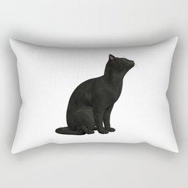 BEAUTIFUL BLACK CAT Rectangular Pillow
