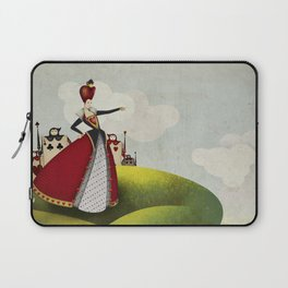 Off with their heads Queen of hearts from Alice in Wonderland Laptop Sleeve
