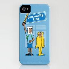 Community Time! Slim Case iPhone (4, 4s)