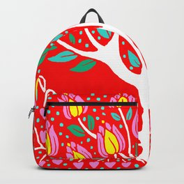 Love Grows Forever - Tomato Red Backpack