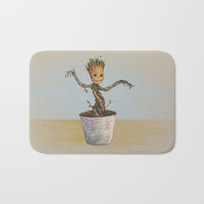 Baby Groot Bath Mat
