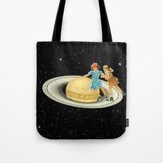 Stroll on Saturn Tote Bag