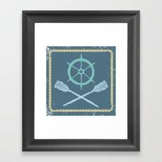 Nautical! Framed Art Print