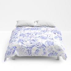 derty delft Comforters