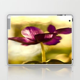 Glowing Purple Flower #decor #buyart #society6 Laptop & iPad Skin