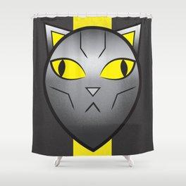 CatBot Shower Curtain