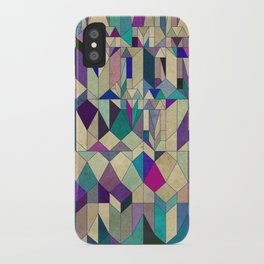 Purple Town iPhone Case