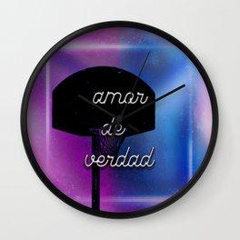 amor de verdad Wall Clock