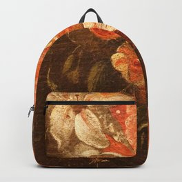 Flowers of old masters Backpack