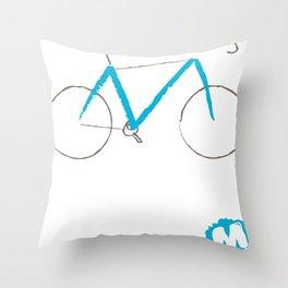\\M// Frame Throw Pillow