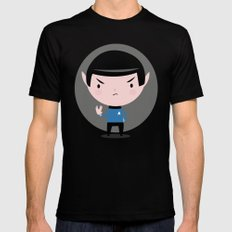LLAP SMALL Black Mens Fitted Tee