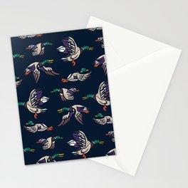 Male Mallard ducks Stationery Cards