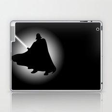 Vader Sithouette (B/W) Laptop & iPad Skin