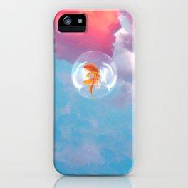 Fishy dreams iPhone Case