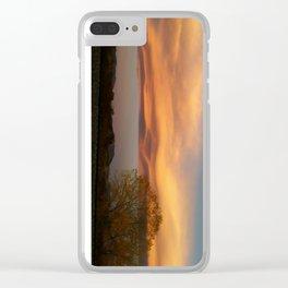 Sculpted Sky Clear iPhone Case
